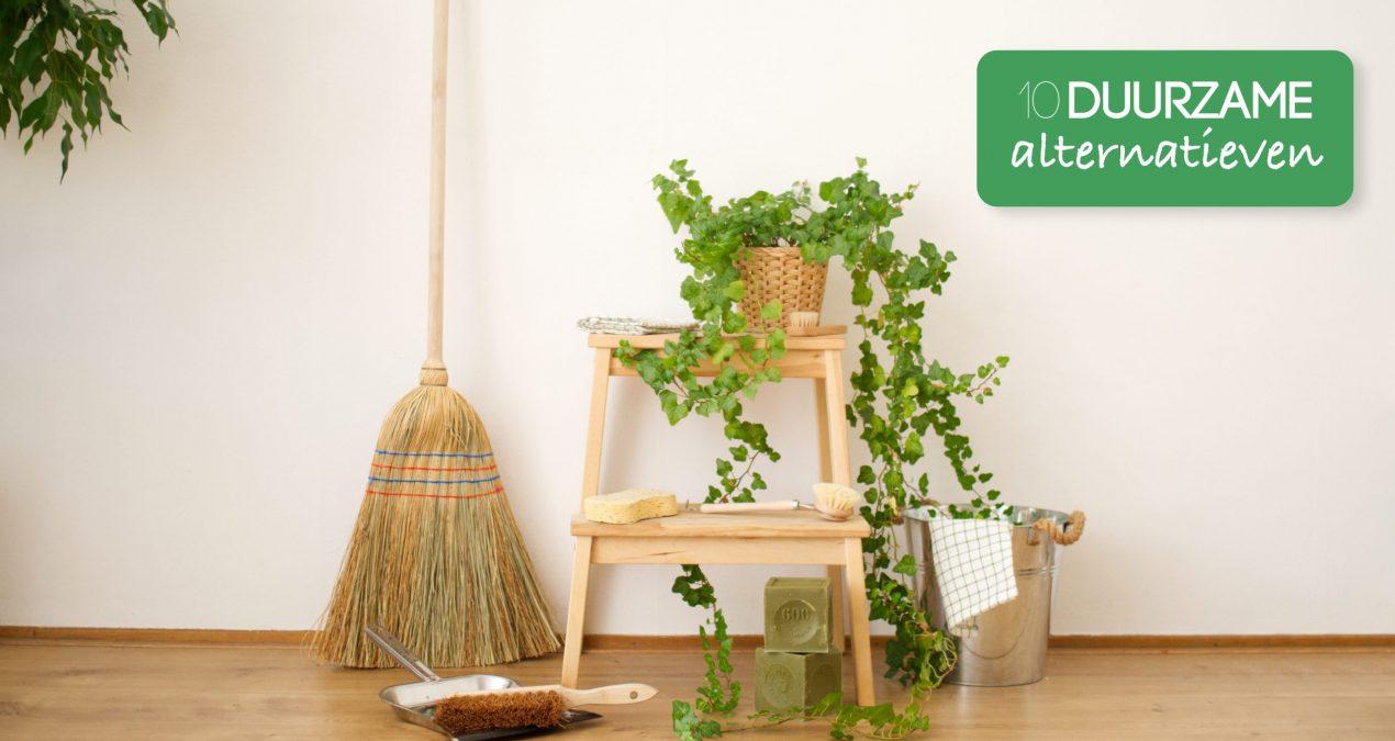 10 duurzame alternatieven voor schoonmaak benodigdheden